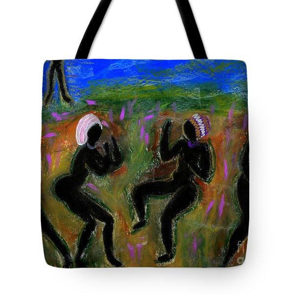 Dancing A Deliverance Prayer Tote Bag by Angela L Walker