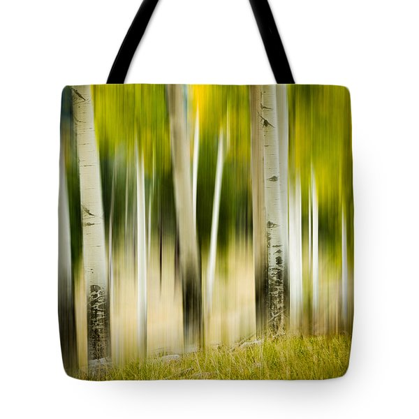 Dancing Aspens Tote Bag
