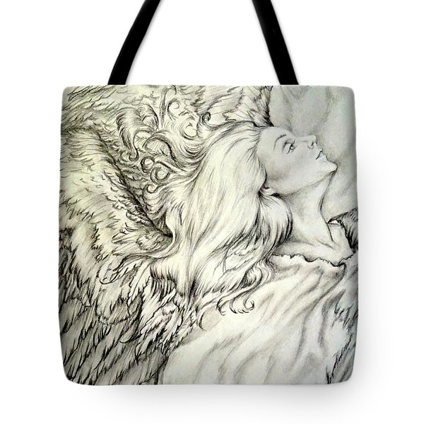 Dancing Before The Lord God Almighty Tote Bag