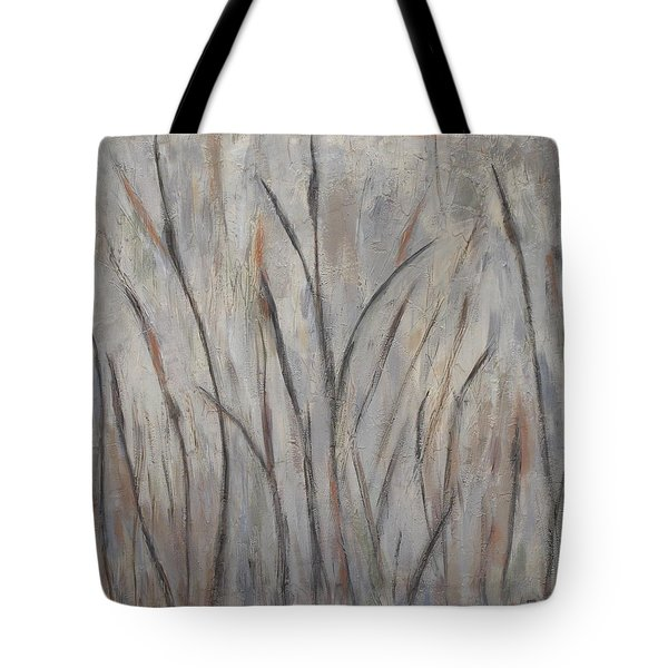 Dancing Cattails 2 Tote Bag by Trish Toro
