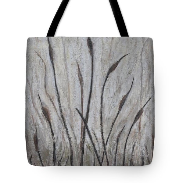Dancing Cattails 3 Tote Bag by Trish Toro