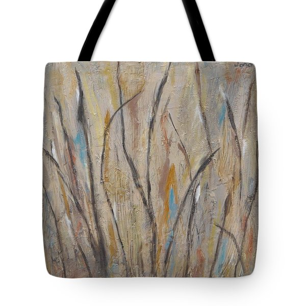 Dancing Cattails I Tote Bag by Trish Toro