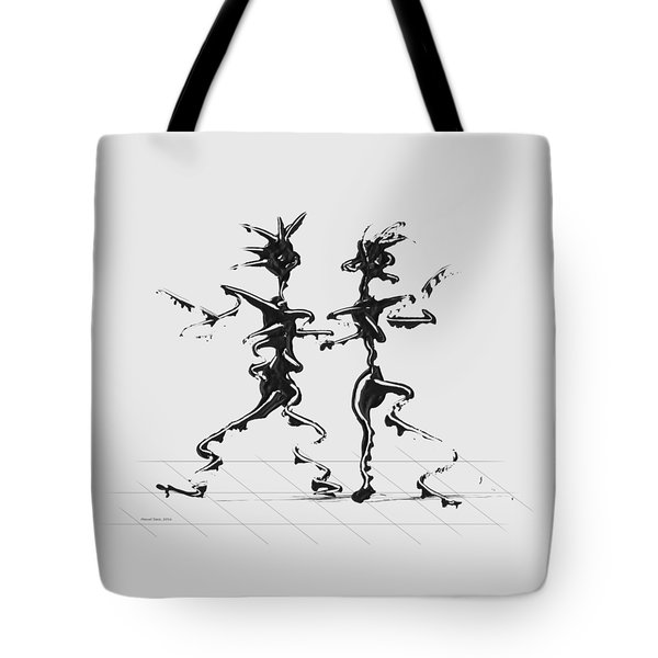 Dancing Couple 2 Tote Bag