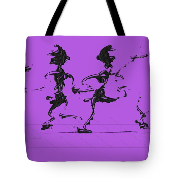 Dancing Couple 3 Tote Bag