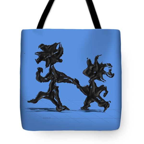 Dancing Couple 6 Tote Bag