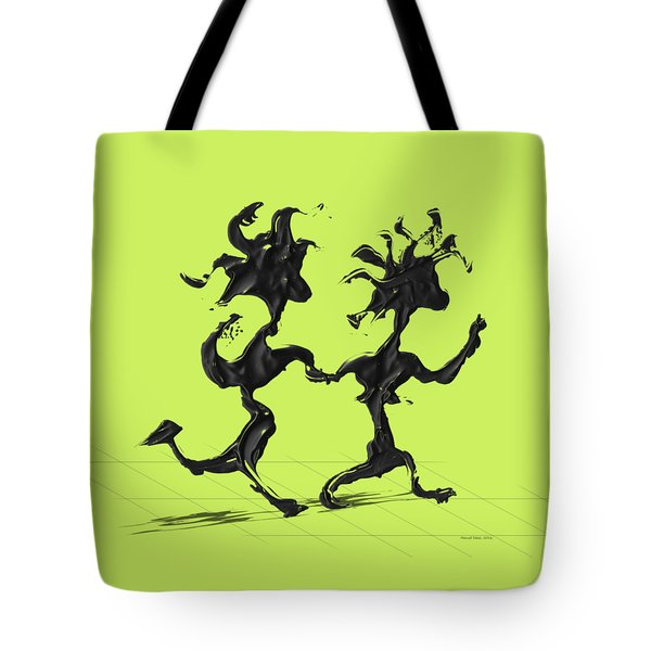 Dancing Couple 7 Tote Bag