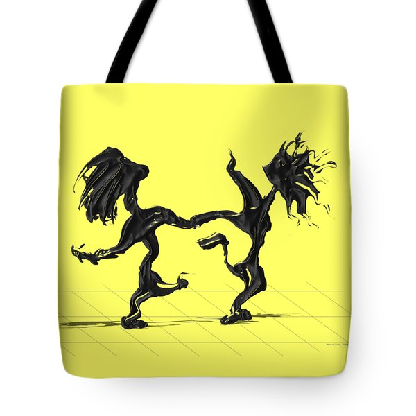 Dancing Couple 8 Tote Bag