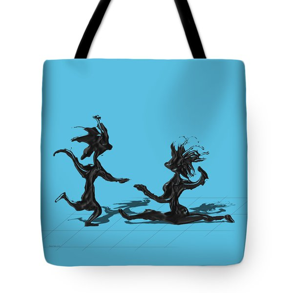 Dancing Couple 9 Tote Bag
