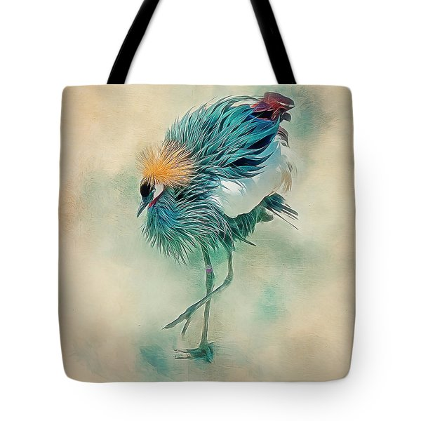 Dancing Crane Tote Bag