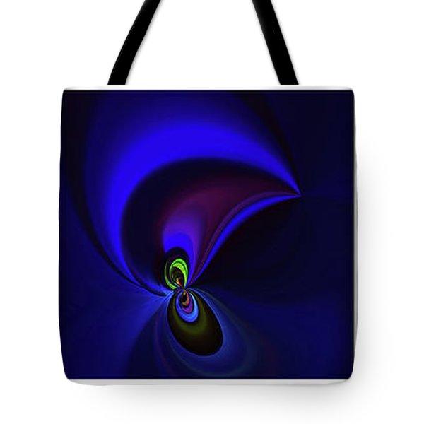Dancing Tote Bag by Elaine Hunter