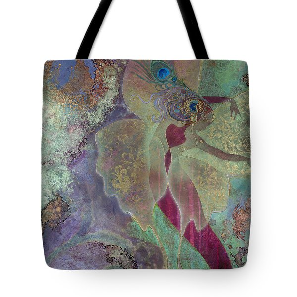 Dancing Fairy Tote Bag by Ragen Mendenhall