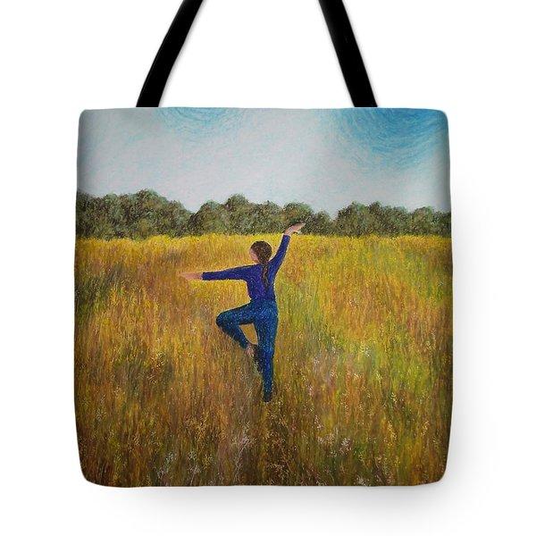 Dancing Field Tote Bag