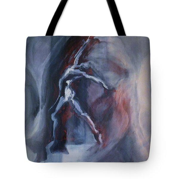 Dancing Figure Tote Bag