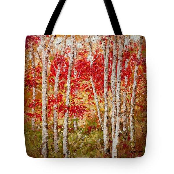 Dancing Foliage Tote Bag