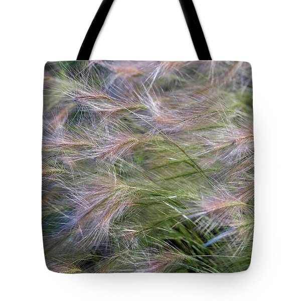 Dancing Foxtail Grass Tote Bag