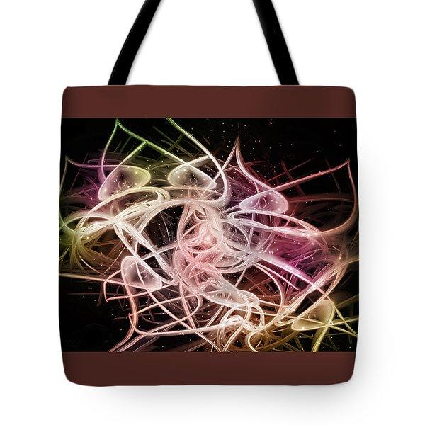 Dancing Horns Tote Bag