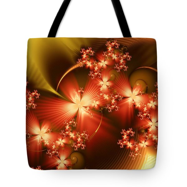 Dancing In Autumn Tote Bag