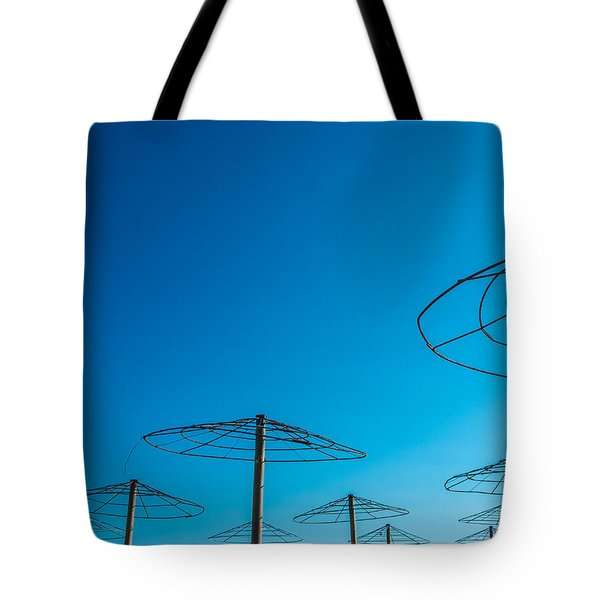 Dancing In Blue Tote Bag