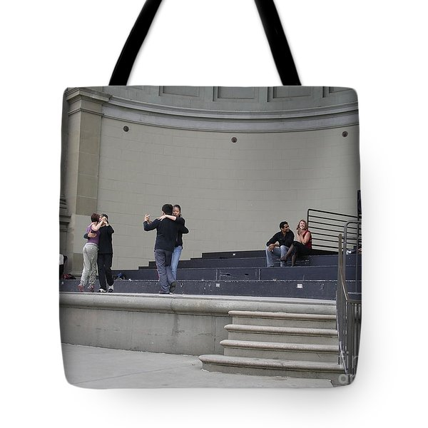 Tote Bag featuring the photograph Dancing In Golden Gate Park by Cynthia Marcopulos