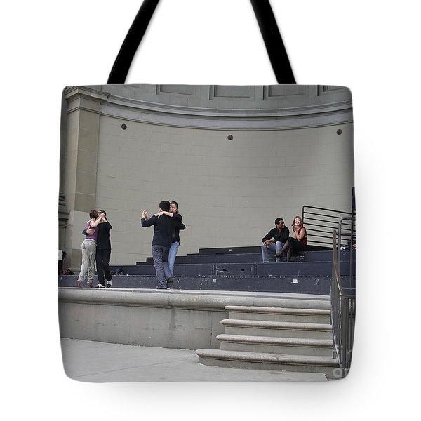 Dancing In Golden Gate Park Tote Bag