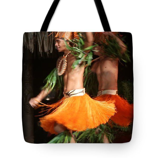 Dancing In Tahiti Tote Bag