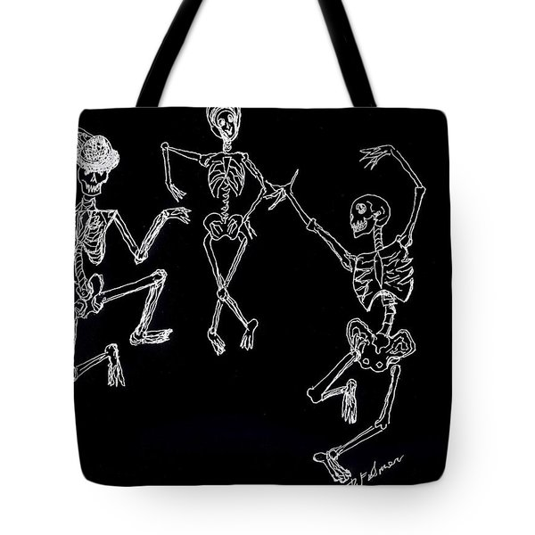 Dancing In The Dark Tote Bag
