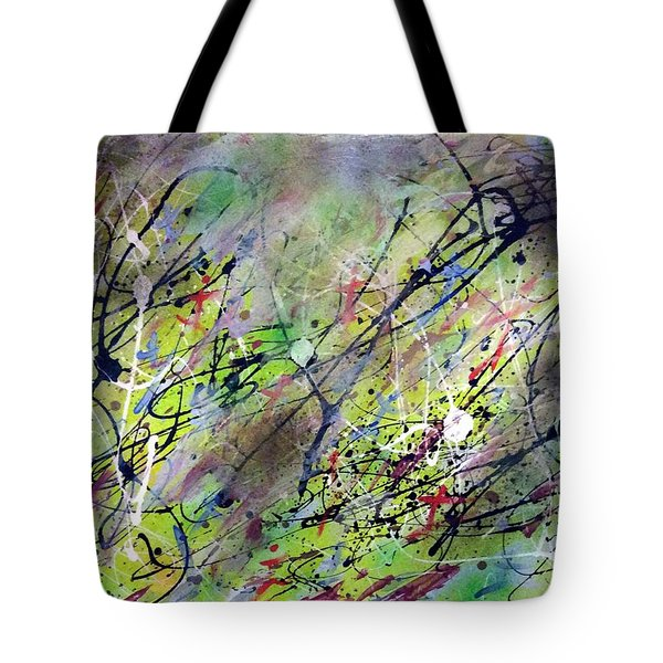 Dancing In The Forest Tote Bag by Patrick Morgan