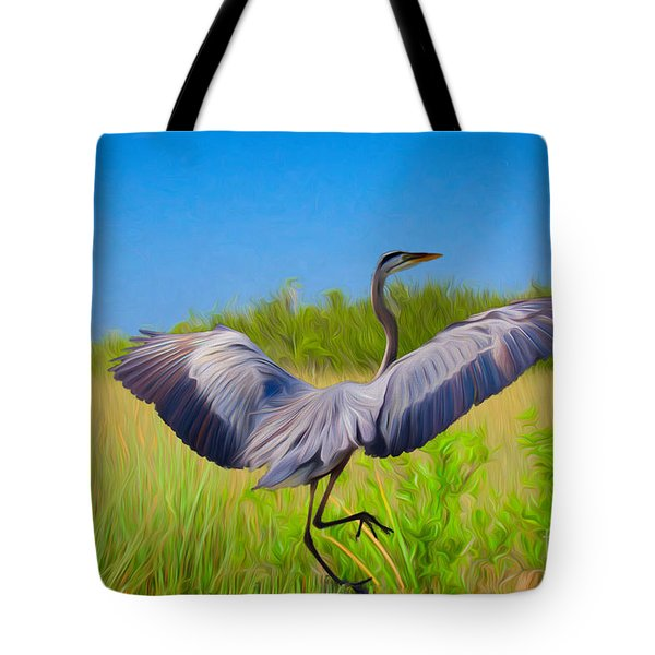 Dancing In The Glades Tote Bag