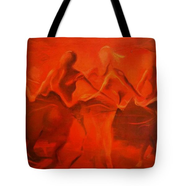 Dancing In The Gloaming Tote Bag