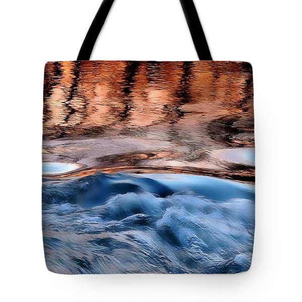 Dancing In The Mirror Tote Bag