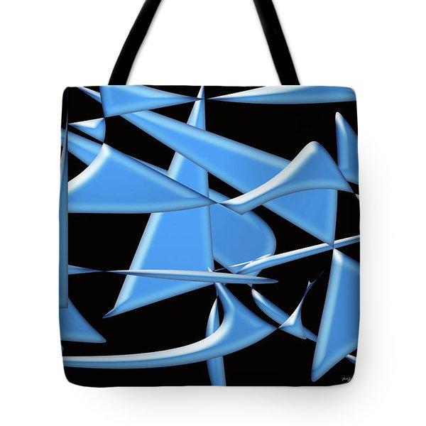 Dancing In The Ocean Tote Bag