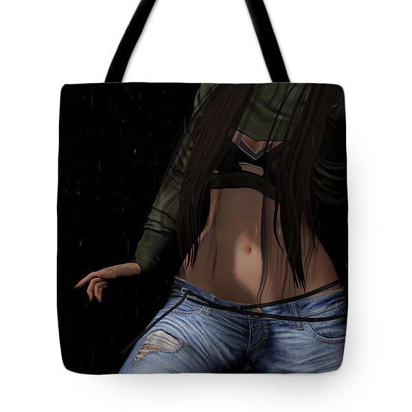 Dancing In The Rain 3 Tote Bag