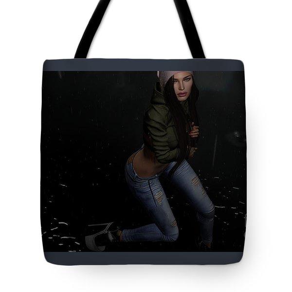 Dancing In The Rain 5 Tote Bag