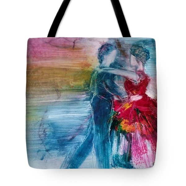 Dancing Into Eternity Tote Bag