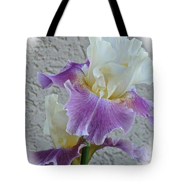 Dancing Iris Tote Bag