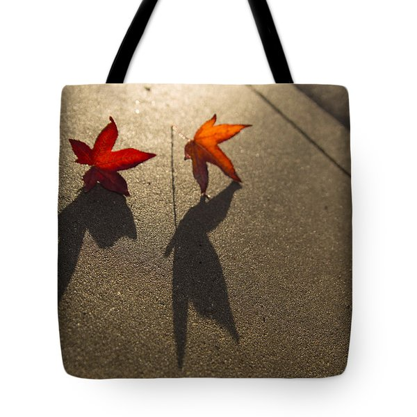 Dancing Leaves Tote Bag
