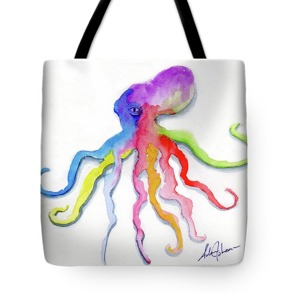 Dancing Octopus Tote Bag