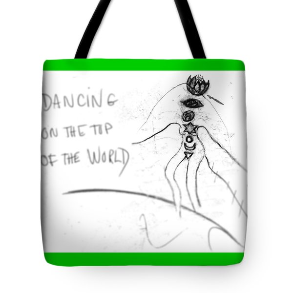 Dancing On The Top Of The World Tote Bag