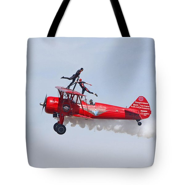 Dancing On The Wings Tote Bag by Shoal Hollingsworth