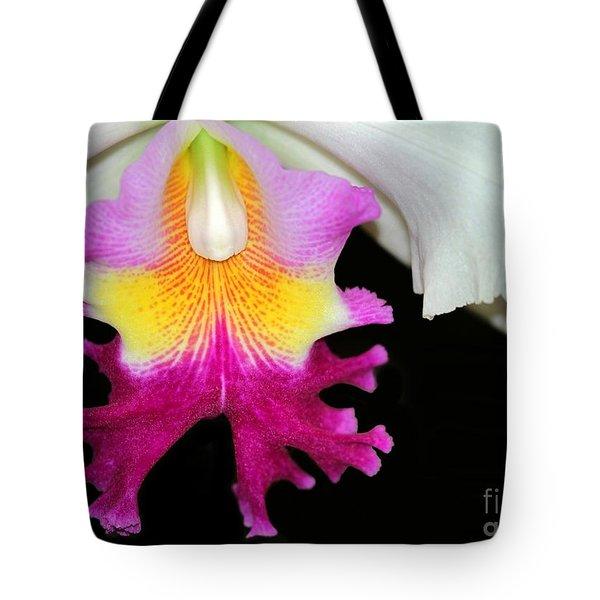 Dancing Orchid Tote Bag by Sabrina L Ryan