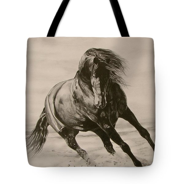 Dancing Pace Tote Bag
