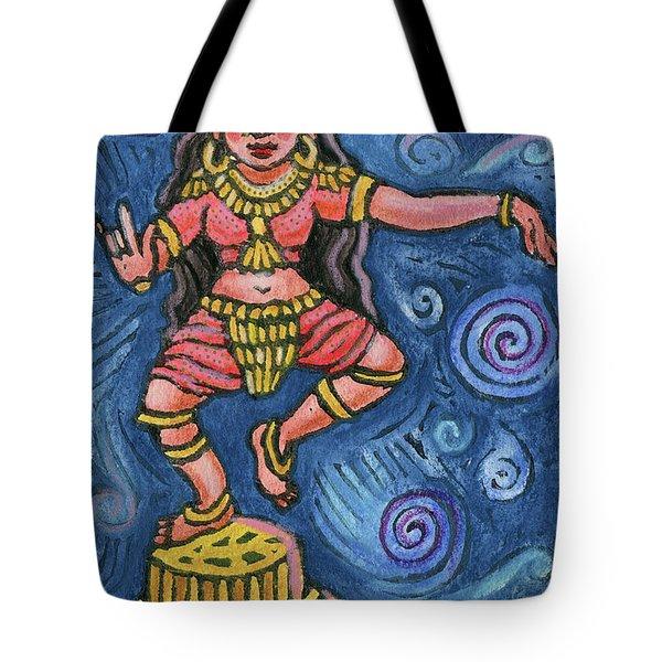 Dancing Parvati Tote Bag