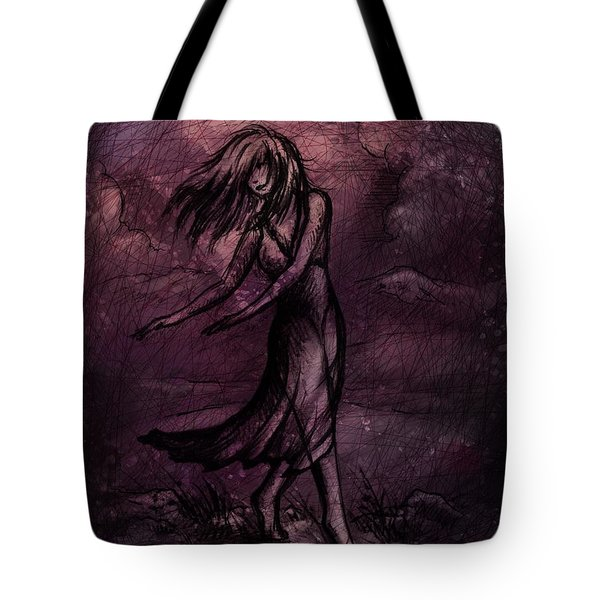 Dancing Tote Bag by Rachel Christine Nowicki