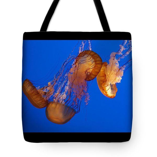 Dancing Sea Nettles Tote Bag