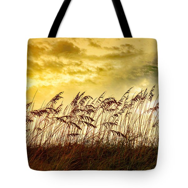 Dancing Sea Oats Tote Bag