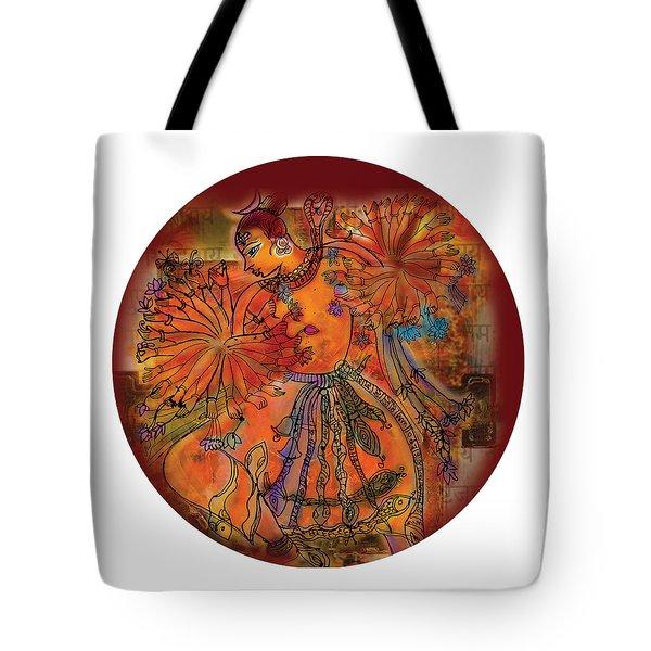 Dancing Shiva Tote Bag