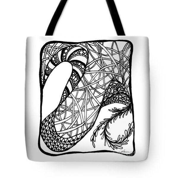 Dancing Shoes Tote Bag by Nan Wright