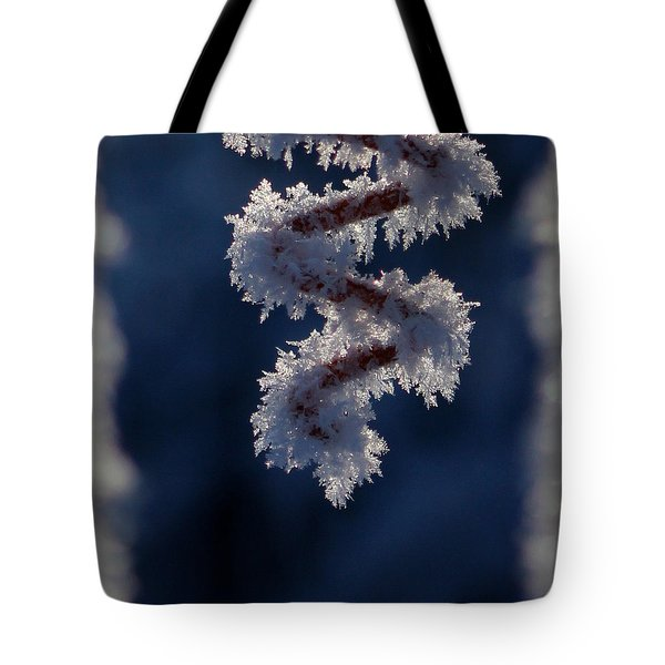 Tote Bag featuring the photograph Dancing Spiral by Silke Brubaker