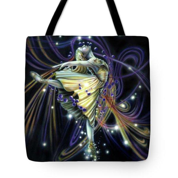 Dancing Stars Tote Bag