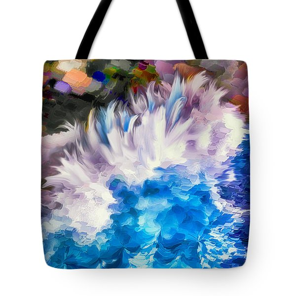 Dancing Swells Tote Bag